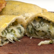 Spinach Empanada - Stock Photo