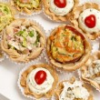Canapes reaady to serve — Foto de Stock