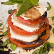 Stock Photo: MozzarellCaprese Salad