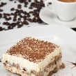 Stock Photo: Tiramisu and Coffee
