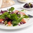 Italithree color salad — Stock Photo #22453511