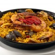 Paella Seafood — Stock Photo