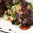 Lamb chops closeup - Foto Stock