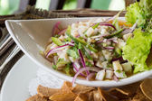 Ceviche served — Stock Photo