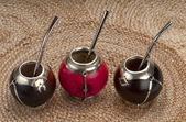 Traditional Calabash Cups — Stock Photo