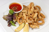 Delicious Fried Calamari — Stock Photo