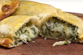 Spinach Empanada — Stock Photo