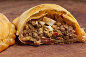 Beef empanada fill — Stock Photo