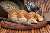 Typical Argentinean Breakfast — Stock Photo