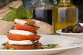 Mozzarella Caprese — Stock Photo