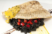 Tasteful Halibut — Stock Photo