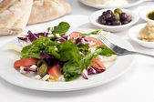 Italian three color salad — Stock Photo