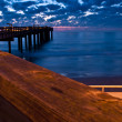 Stock Photo: From fishing pier