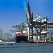 Stock Photo: Miami Seaport