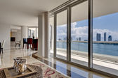 Modern Apartment with Ocean View — Stock Photo
