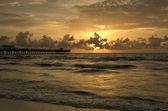 Fishing Pier Morning III — Stock Photo