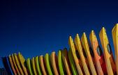 Colorful Kayaks — Stock Photo