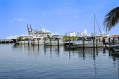 South Pointe Marina — Stock Photo