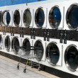 Stock Photo: Laundry Shop