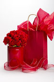 St. Valentine gifts — Stock Photo