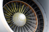 Aircraft engine detail — Stockfoto