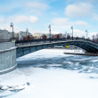 Bridge over Moskva River - Stock Photo
