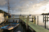 Dock in Key Largo — Stock Photo