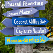 Stock Photo: Tropical Directions