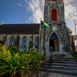 Historic St. Mary the Virgin Church - Stock Photo