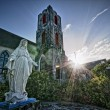 St. Mary the Virgin at The Bahamas Church - Stock Photo