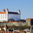 Bratislava Castle - Stock Photo