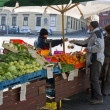 Stock Photo: Vegetable Market in Brno