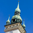 Old Town Hall Brno Tower Closeup — Stock Photo