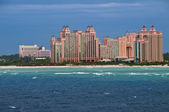 Resort at the beach — Stock Photo