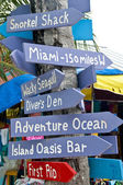 Caribbean Sign — Stock Photo