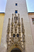 Baroque entrance to Brno Old Town Hall. — Stock Photo