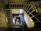 Stairs to the tower in Petrov — Foto de Stock