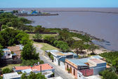 Aerial view of Colonia in Uruguay — Stock Photo