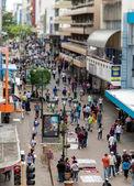 San Jose Costa Rica Avenida Central — Stock Photo