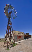 Windmill in Route 66 — Stock Photo