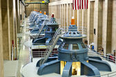 Hoover Dam Turbines — Stock Photo