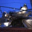 View of jay Pritzker Pavilion in Millennium Park in Chicago. — Photo