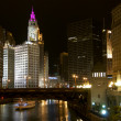 View of Chicago River at Wabash Avenue — Stock Photo #25773525
