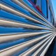 Train perspective - Stockfoto