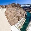 Stock Photo: Hoover Dam panorama