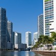 Stock Photo: Miami River Condos