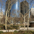Stock Photo: Battery Park Skyscrapers