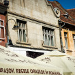 Brasov facades — Stock Photo