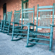 Rocking Chairs — Stock Photo
