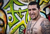 Graffiti Artist Portrait — Stock Photo